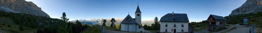 Wallfahrtskirche Heilig Kreuz unter dem Heiligkreuzkofel