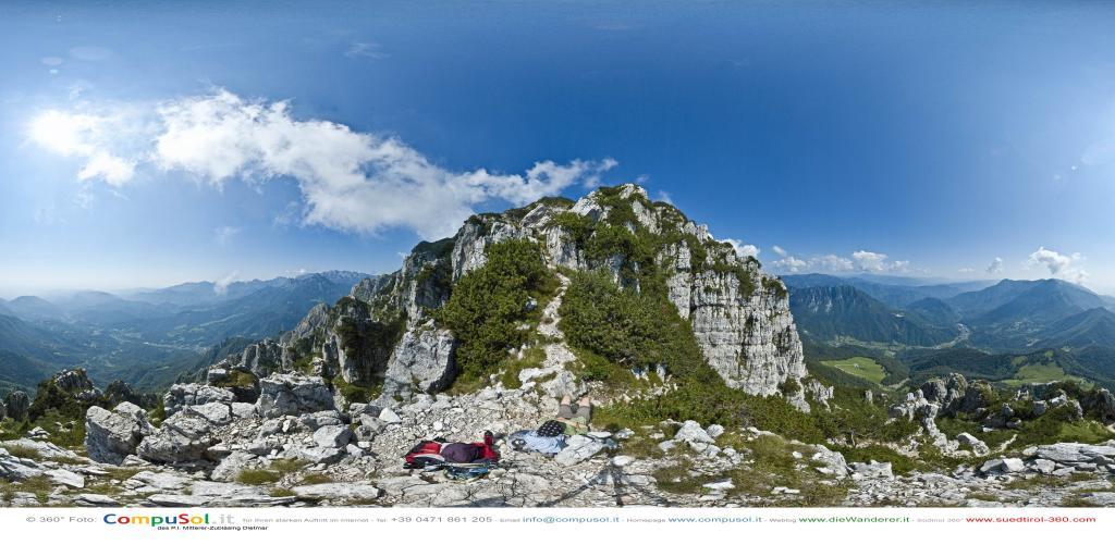 Climbing route G. Falcipieri