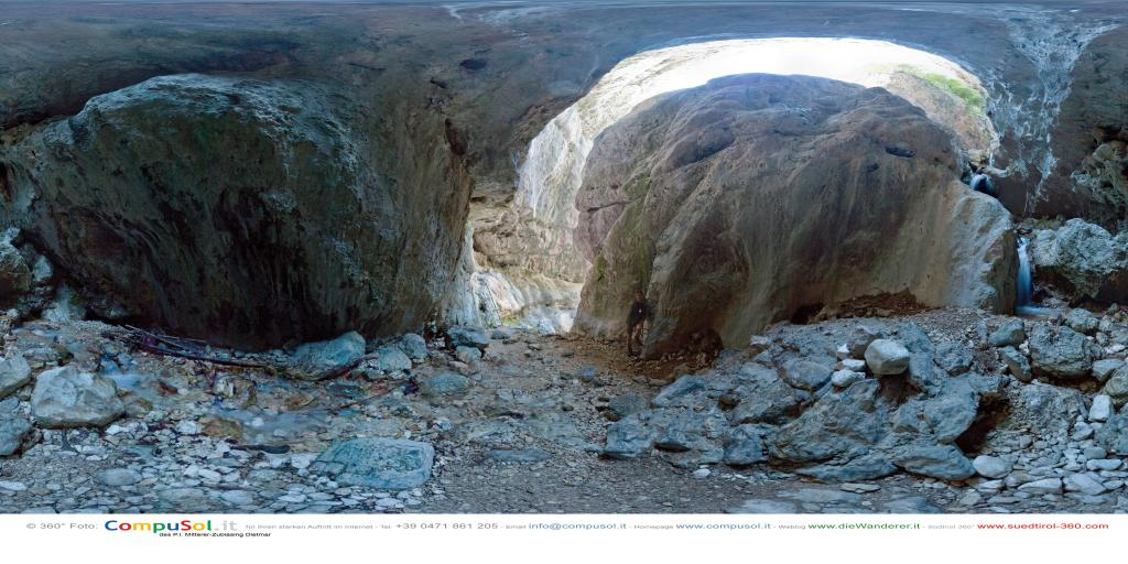 Klettersteig Burrone