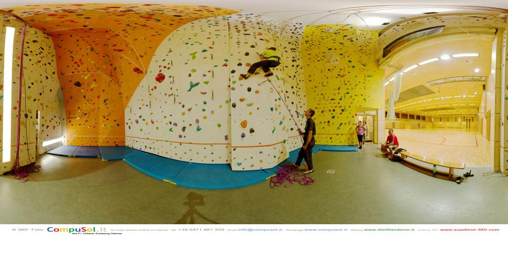 climbing hall in Tramin