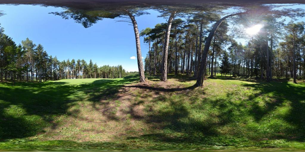 golf course of Petersberg