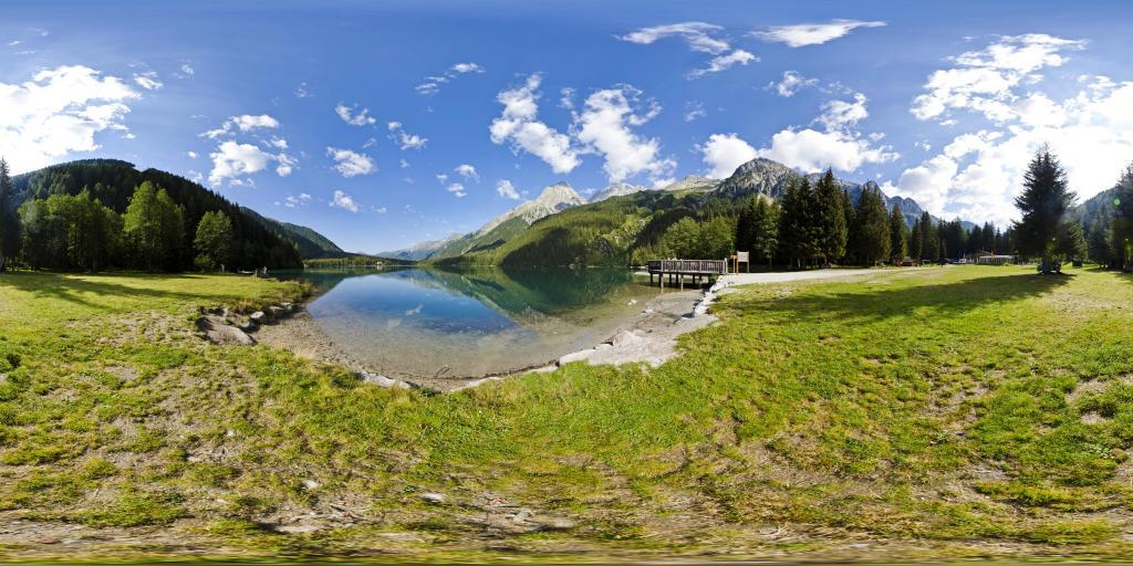 Antholzer See Steg