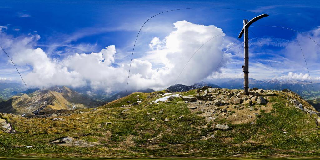 vista dalla cima Vedetta Alta