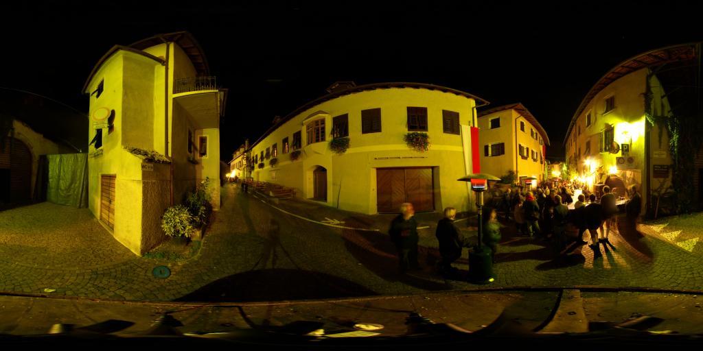 Wine festival streets Tramin
