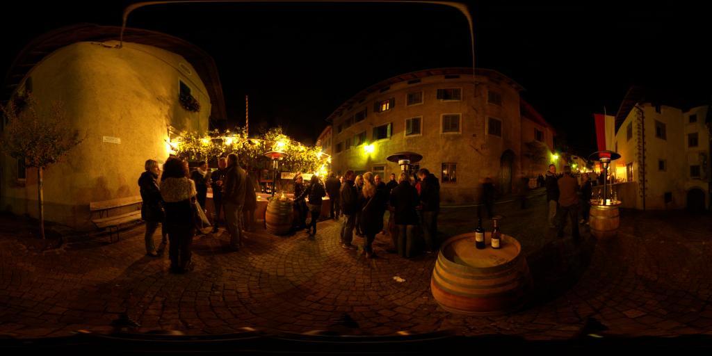 Wine festival Tramin cellars