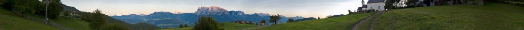 Maria Saal vista Dolomiti