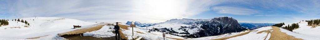 Escursione intorno al Bullaccia sulle Alpe di Siusi
