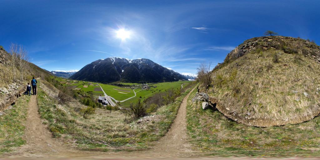 Münstertal mit Taufers und Rifair
