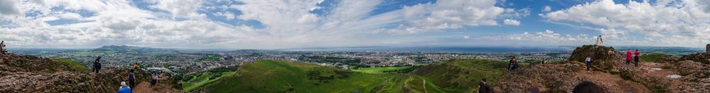 Arthur's Seat nel parco Holyrood - Edimburgo