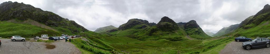 Three Sisters - Glencoe, Highlands, Schottland