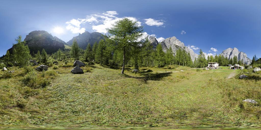 Rifugio Selvata nel parco naturale Adamello-Brenta