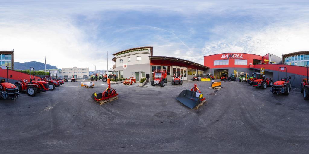 Giorno di apertura al pubblico da Sanoll Landmaschinen