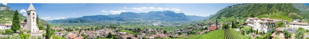 Panoramica 360° Termeno/Kastelatz