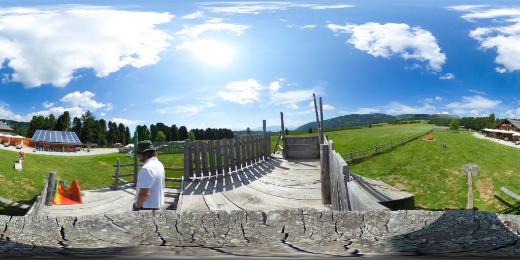 Parco giochi malga Rinderplatz - Alpe di Villandro