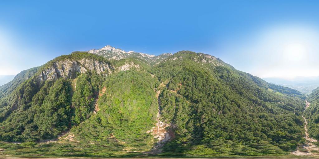 Wasserfall Höllentalbach und Wasserfall Weissenbach