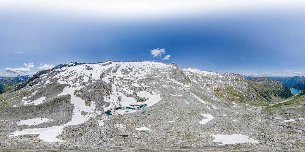 Gletschersee am Neveser Höhenweg