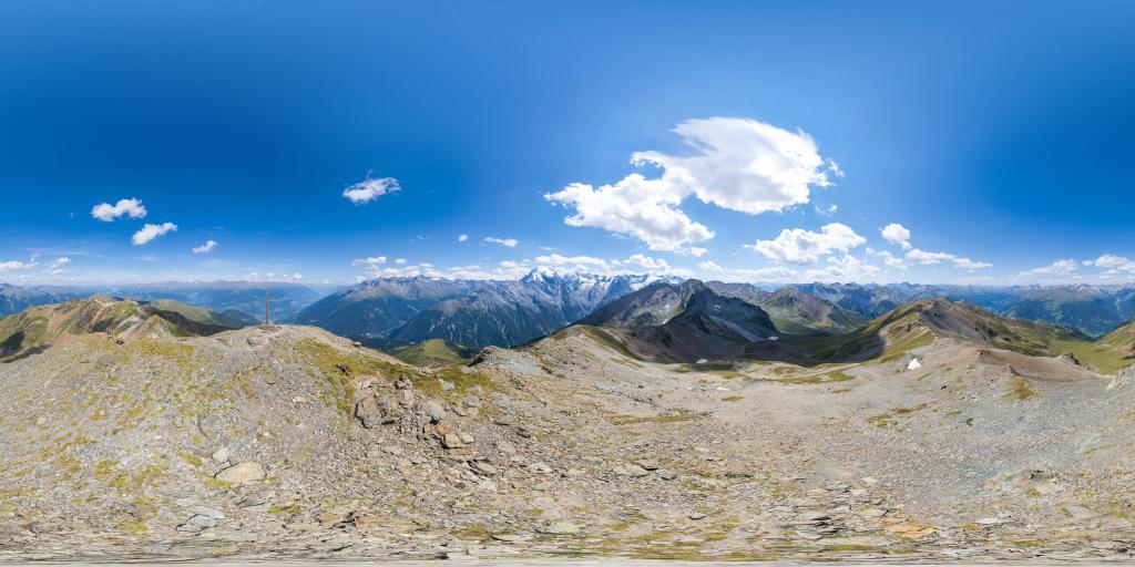 Piz Minschuns Gipfelkreuz