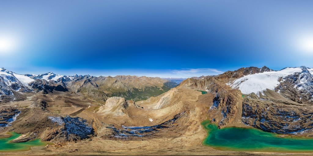 Bergsee unterm Schranferner in den Ortler Alpen